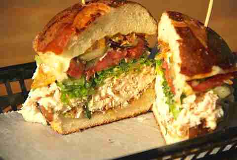 Local Foods chicken sandwich