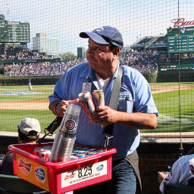 Everything You\'ve Ever Wanted to Know About Wrigley Field Beer Vendors
