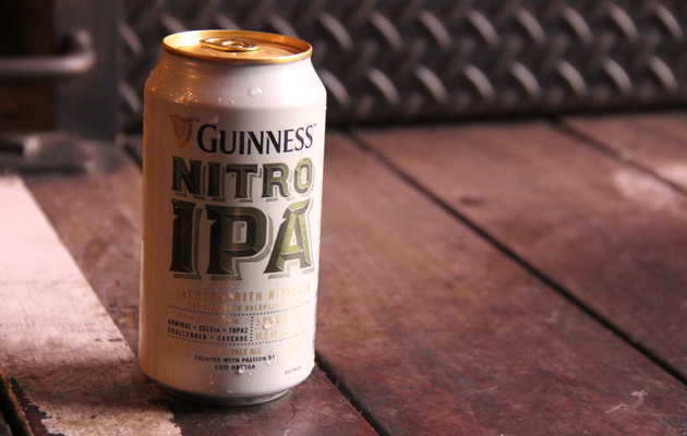 Should You Drink the New Guinness Nitro IPA? We Found Out.