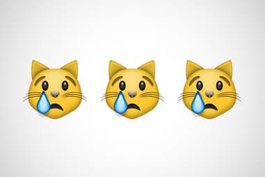 crying cat emoji