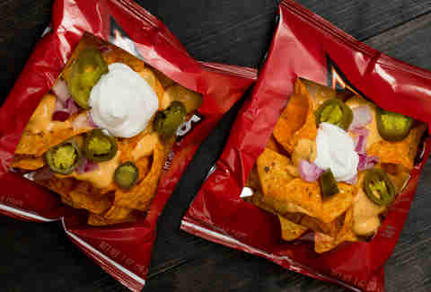 Personal nachos -- Thrillist Recipes
