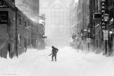 guy in snow