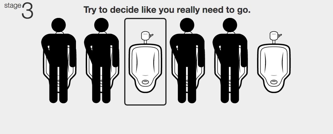 Game etiquette mens bathroom 10 Restroom