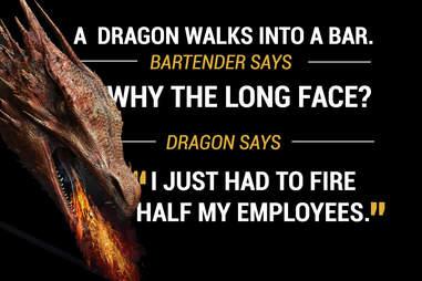 Dragon walks into a bar