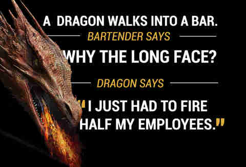 Dragon walks into a bar