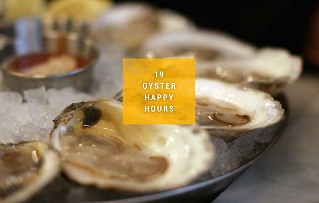 19 Amazing Oyster Happy Hours in Boston