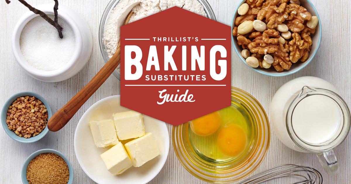 No Butter? No Problem. Every Baking Substitute You Could Ever Need.