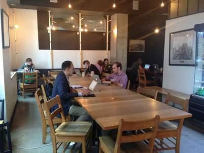 Pushcart Coffee in Chelsea, New York