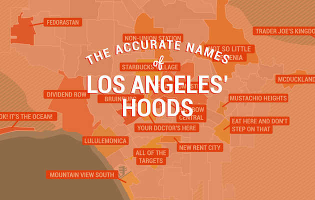 It's Time to Rename These LA Neighborhoods