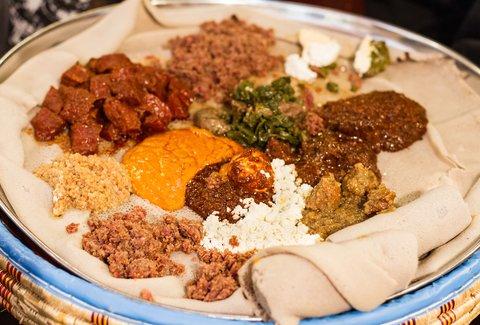Rosalind S Ethiopian Restaurant A Los Angeles Ca Restaurant