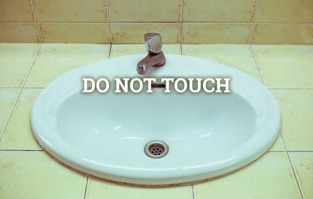 7 Places You Shouldn't Touch in Public Bathrooms (That Aren't the Toilet Seat)