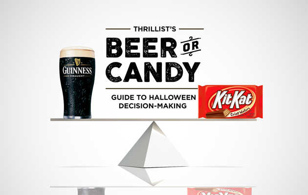 The Calories in Your Favorite Beers, Expressed in Halloween Candy