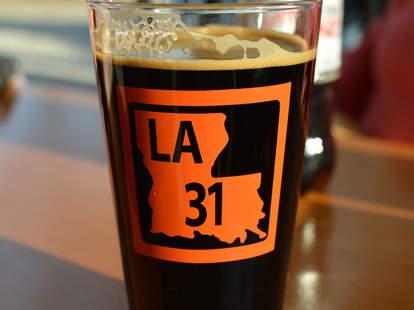 dark beer from Bayou Teche Brewing Louisiana craft beer brewery