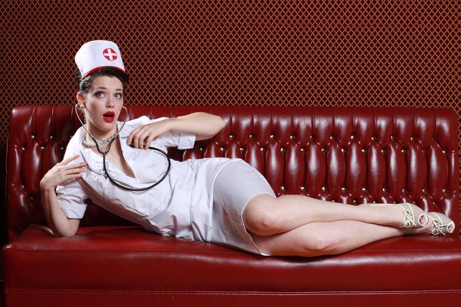 sexy uniform nurse 🍑🥒 - YouTube