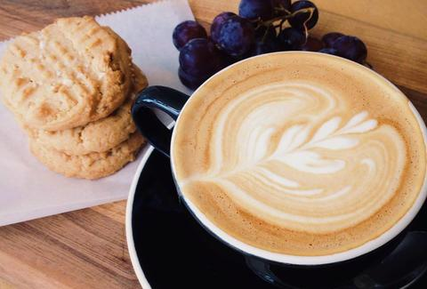 cookies and latte art