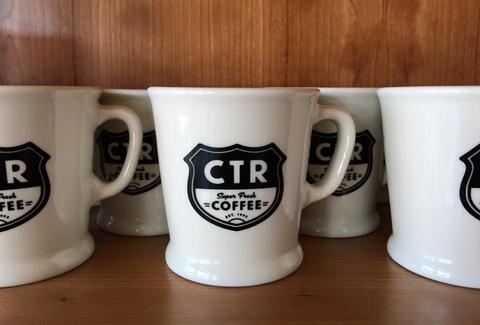 coffee mugs at coffee tree roasters