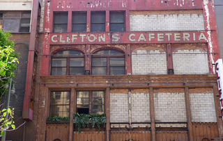 The Gothic Bar at Clifton's Cafeteria