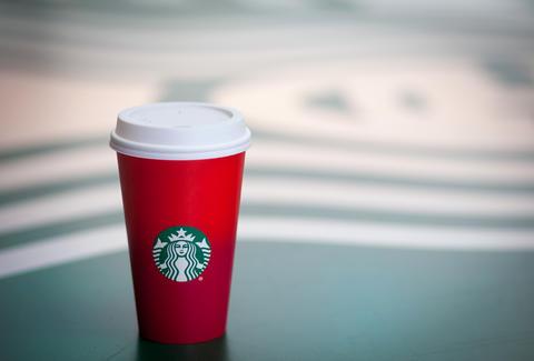 courtesy of starbucks - Starbucks Merry Christmas