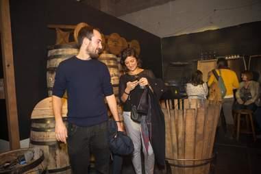 Jack Daniel's barrel making