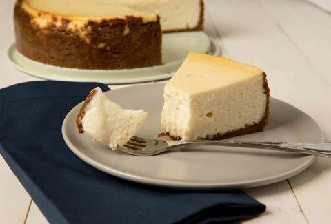 Eggnog Cheesecake -- Thrillist Recipes