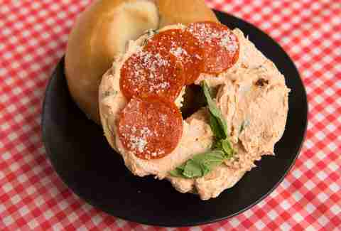 Pizza Cream Cheese -- Thrillist Recipes