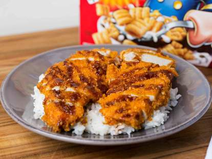 Cap'n Crunch Tonkatsu -- Thrillist Recipes