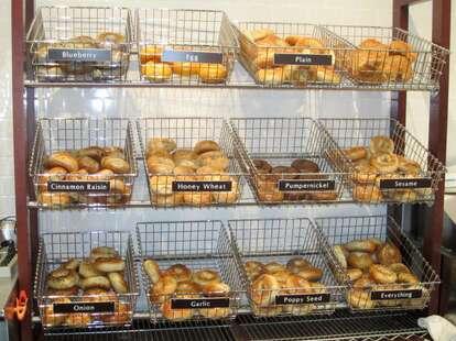 poppy's bagel selection