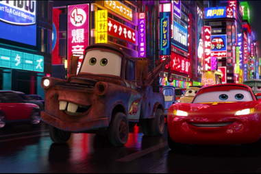 cars 2 - pixar movies ranked