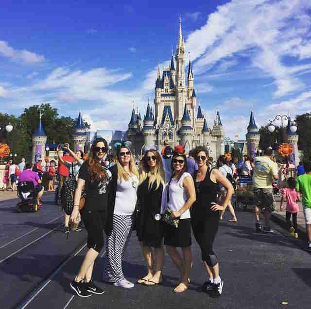 A bachelorette party set in the happiest place on earth for Bachelorette party places to go