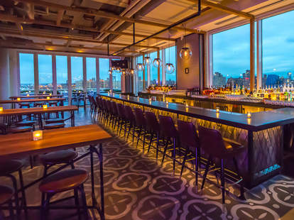 Mr. Purple Bar, New York City Rooftop bar