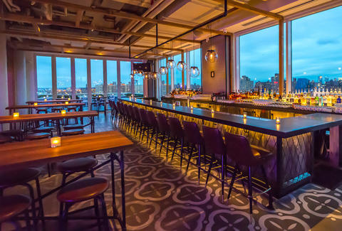 Mr. Purple Bar, New York City Rooftop bar