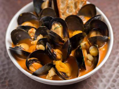 Estrella, Los Angeles food, clams