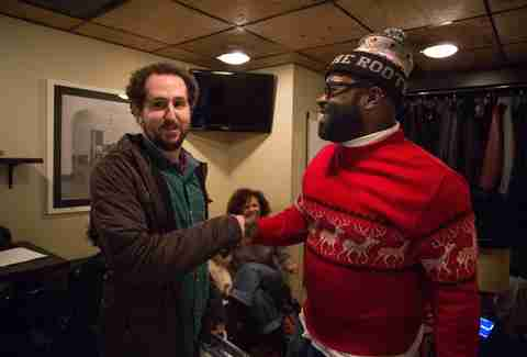 Lee Breslouer and Black Thought