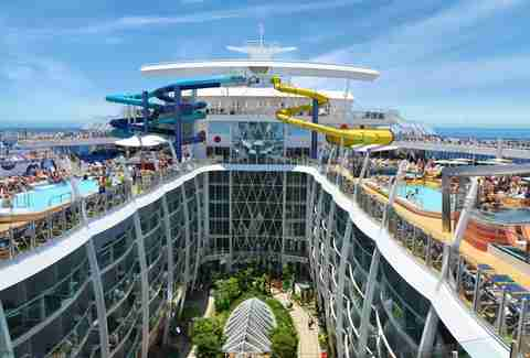 Bumper Cars and Skydiving: The World's Most Tricked Out New Cruise Ships