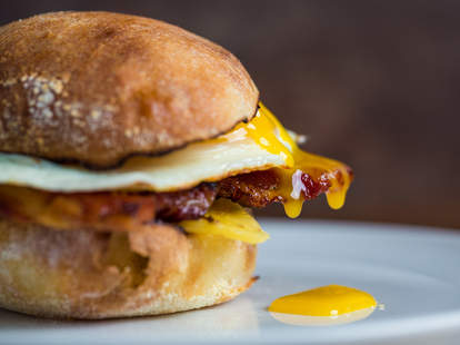 Bacon egg and cheese