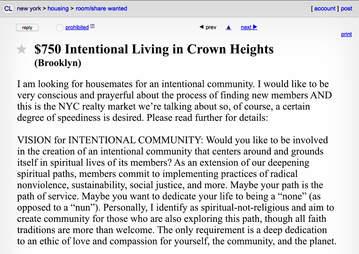 The Weirdest New York Roommate Ads On Craigslist Thrillist