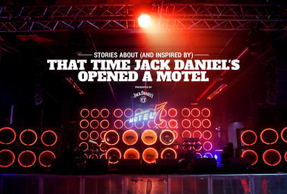 Jack Daniel's motel stage