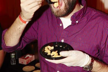 MP Taverna eating