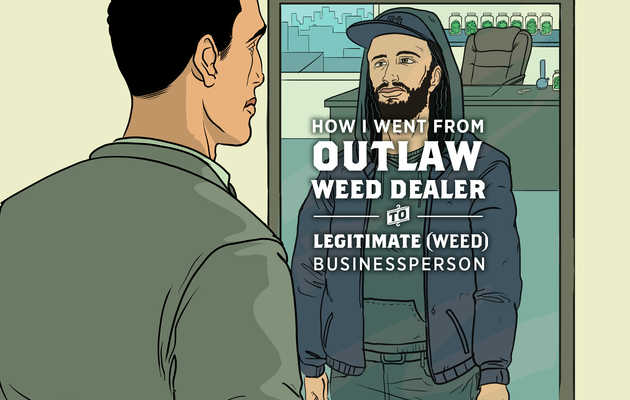 How I Went From Outlaw Weed Dealer to Legitimate (Weed) Businessperson
