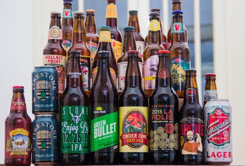 The best beer from america 39 s 50 biggest craft breweries for Japan craft beer association