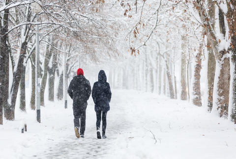 Where Will It Snow This Christmas? - Christmas Weather - Snowfall on ...