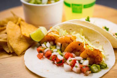 Best vegetarian options in guapos