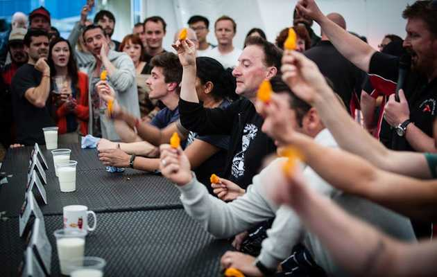 These Are the World's Hottest Chili Pepper-Eating Challenges