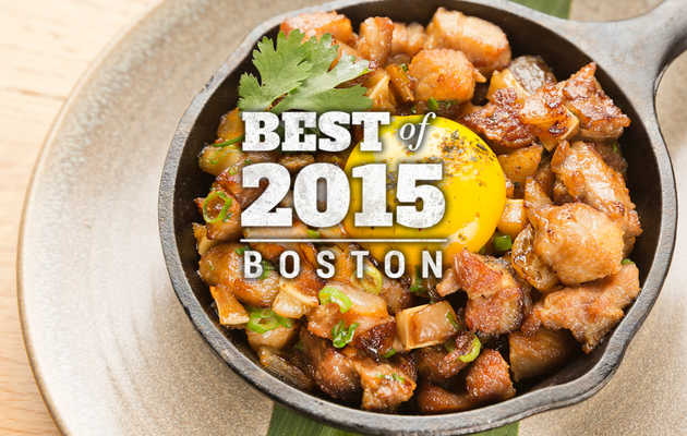 The Thrillist Awards: Boston's Best New Food & Drink of 2015