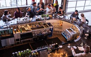 Tattersall Distilling's Cocktail Room
