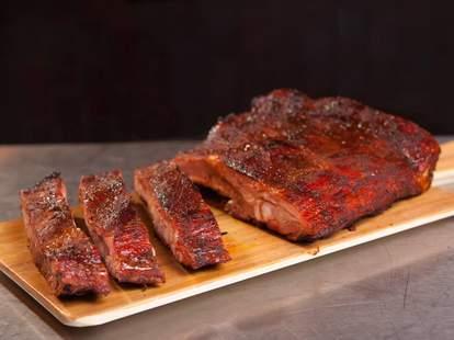 filet of meat from smoke: the restaurant san antonio