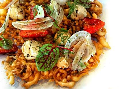 Otium, Los Angeles food