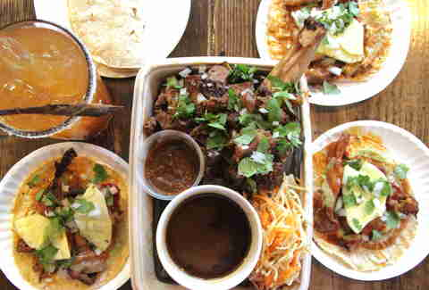 mexican food, mexican platter