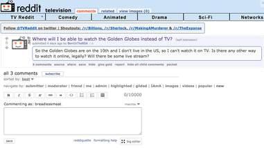 golden globe live stream search
