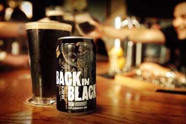 Back in Black beer
